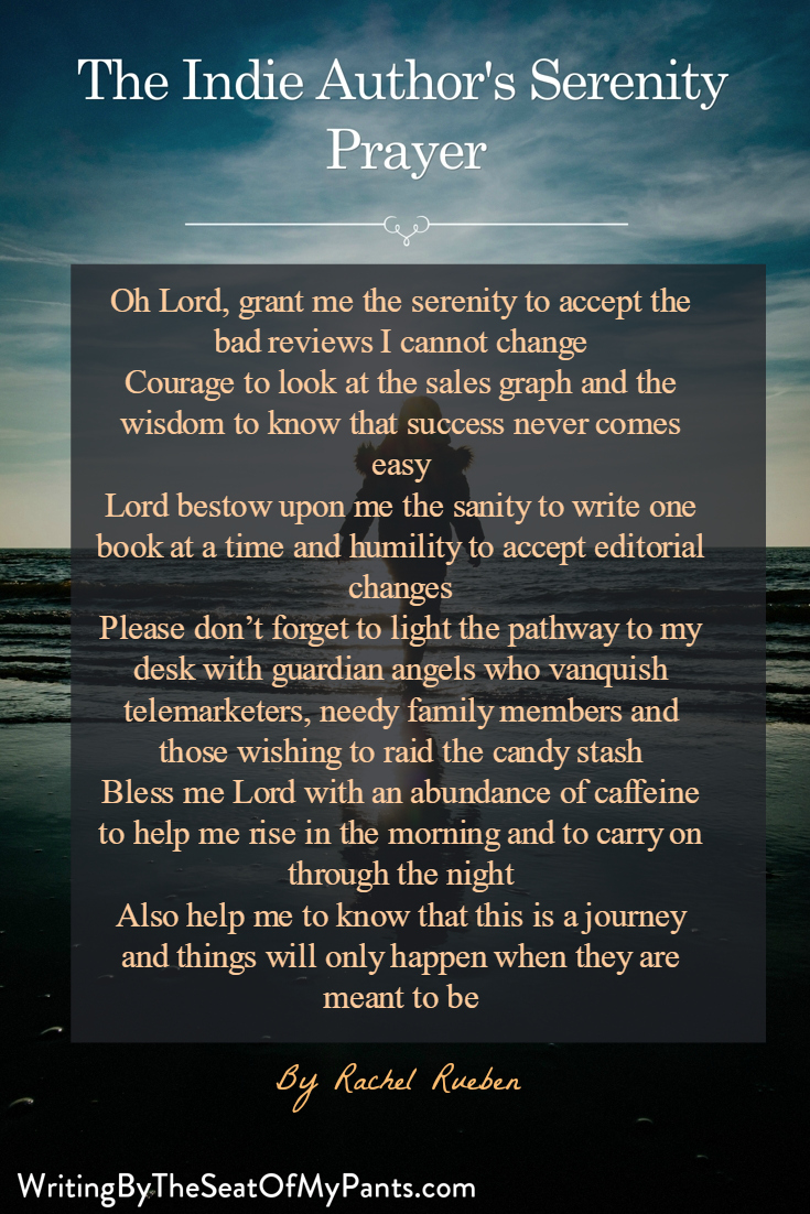 The Indie Author's Serenity Prayer