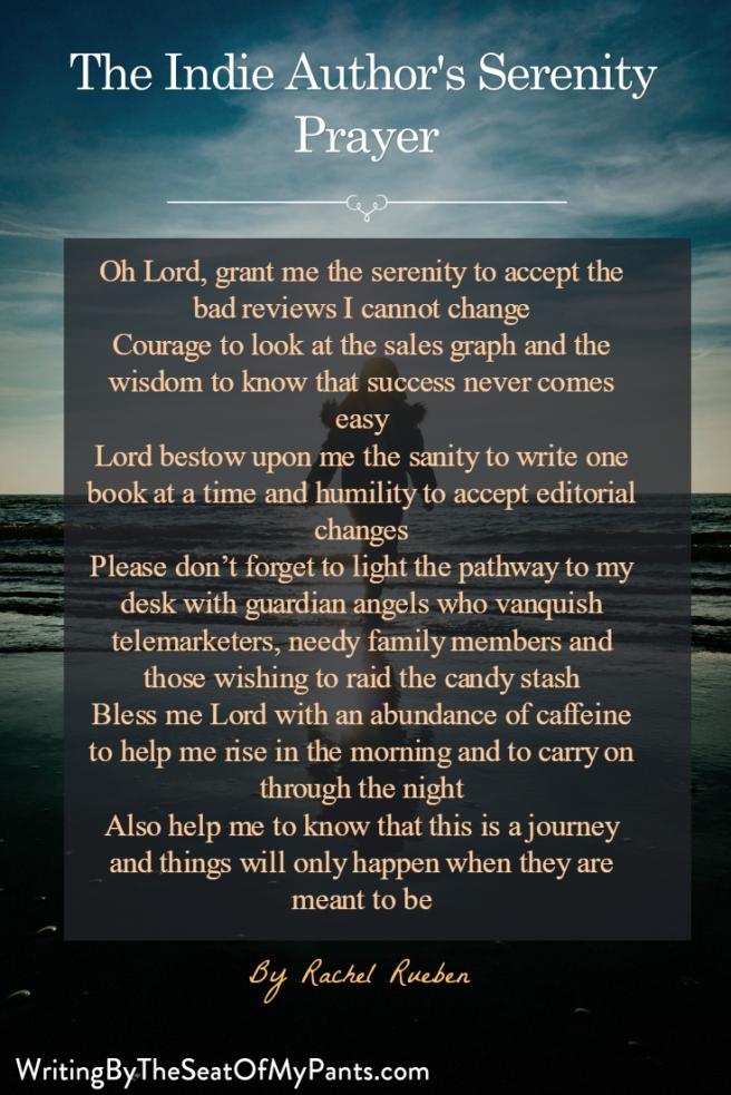 The Indie Author's Serenity Prayer