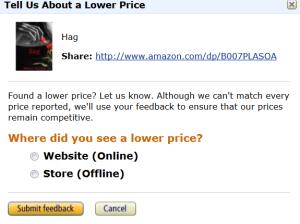 Amazon Pop up free link