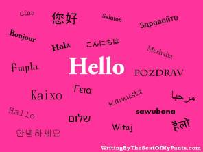 Hello in Multiple Languages