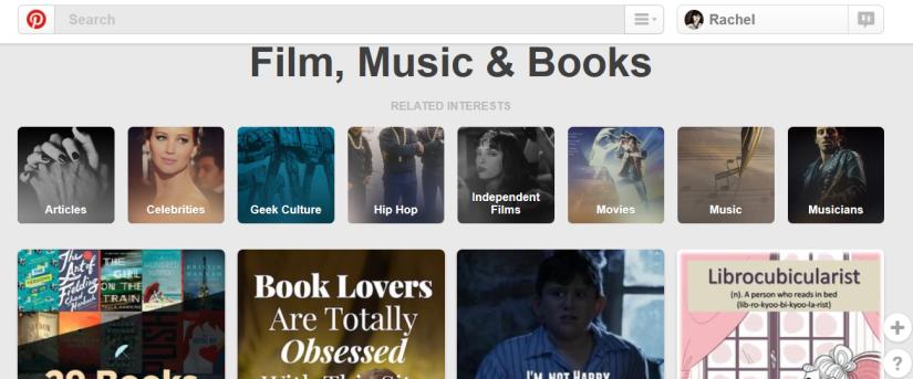 Pinterest Basic Search
