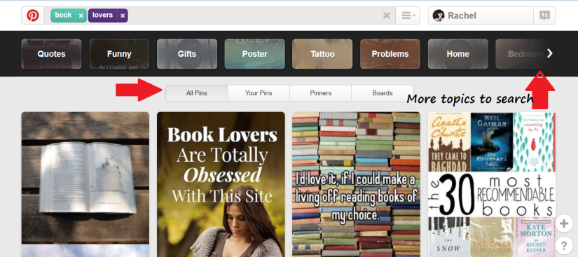 Pinterest Search Techniques
