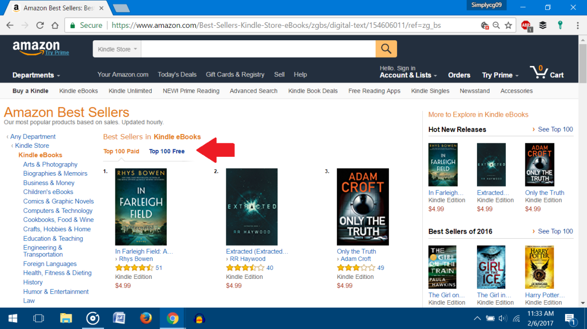 Amazon's KDP Select Program